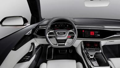 Audi muestra el sistema operativo Android del Audi Q8 sport
