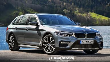 Así podría ser el BMW Serie 5 Cross Touring