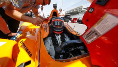 """Alonso: """"estoy en la Indy porque me encantan las carreras"""""""