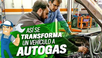 Así se transforma un vehículo a Autogas