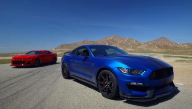 Duelo americano: ¿Camaro ZL1 o Shelby GT350R?