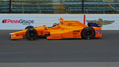 Test Indianápolis 2017: Alonso, quinto antes de la carrera
