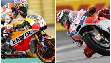 Pedrosa y Lorenzo, penúltimo y último en el FP3 de MotoGP