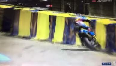 Vídeo: ¡brutal accidente de Jack Miller en Le Mans!