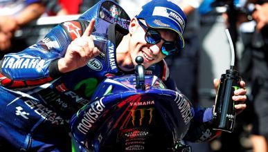"""Maverick Viñales se esperaba """"un toque"""" por parte de Rossi"""