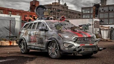 'Road of the Dead': zombies conduciendo coches de carreras