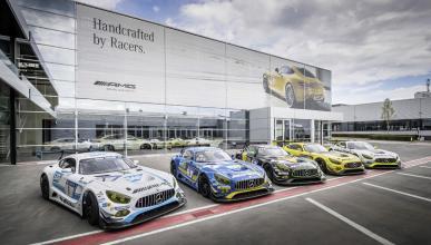 nueva sala de exposición Mercedes-AMG