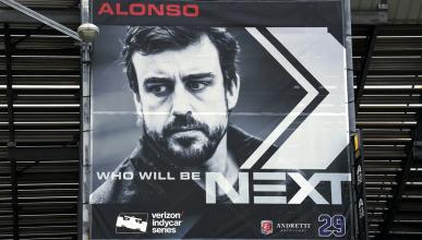 Alonso, segundo favorito en apuestas para ganar la Indy 500