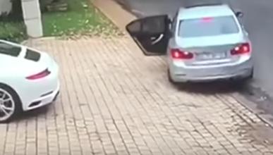 El robo de un Porsche que se ha hecho viral