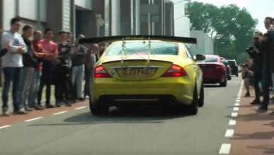 Vídeo: Imposible no mirar este Mercedes CLS 55 AMG