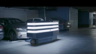 Stan, el robot que te aparca el coche en el aeropuerto