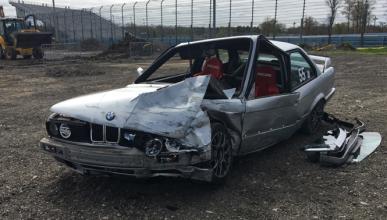 Vídeo: se queda sin frenos en circuito y a más de 180 km/h