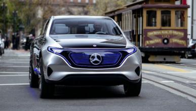 Mercedes presentará su compacto eléctrico en Frankfurt