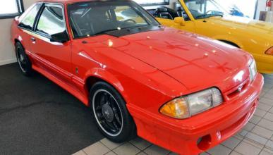 El prototipo de Mustang Cobra R que se salvó de la quema