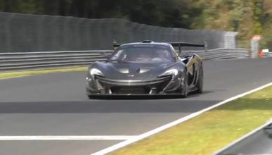 El McLaren P1 LM establece un nuevo récord en Nürburgring