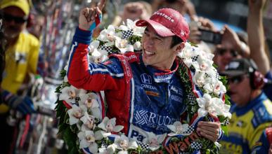 Takuma Sato, primer japonés en ganar la Indy 500