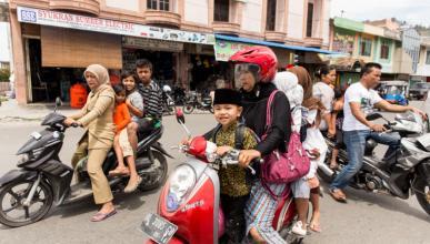 Los niños no podrán ir en moto en Filipinas