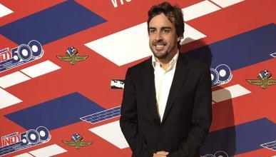 Fernando Alonso, elegido mejor novato en la Indy 500