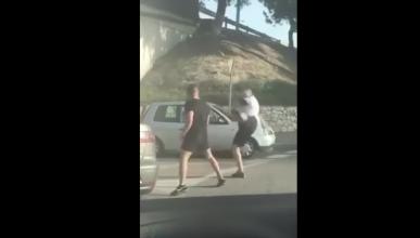 La pelea de conductores en Mijas: ¿montaje o realidad?
