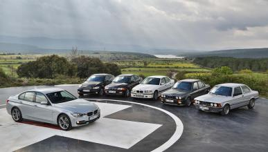 Todos BMW Serie 3 generaciones