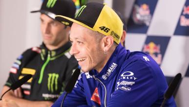Valentino Rossi se 'salta' la rueda de prensa de Mugello