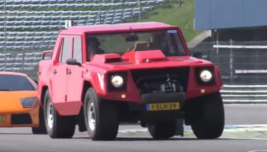 Vídeo: así va el Lamborghini LM002 en circuito