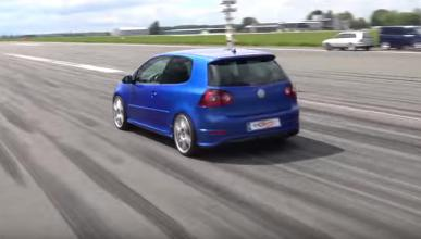 VW Golf R32, a lo bestia