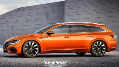 Así podría ser el Volkswagen Arteon Variant