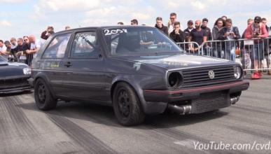 Vídeo: un Volkswagen Golf Mk2 con 950 CV