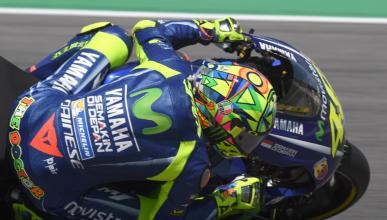 Valentino Rossi se olvida de su lesión: el mejor del FP3