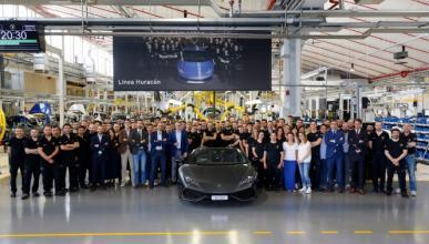 Éxito: fabricado el Lamborghini Huracán número 8.000