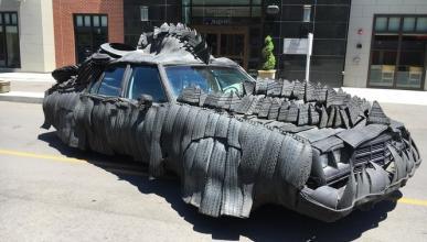¿Un coche-cocodrilo? Es posible…
