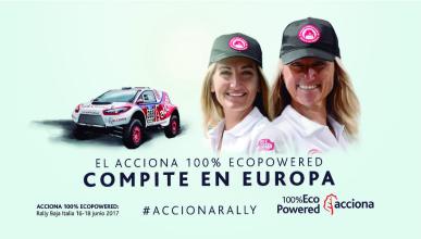 El coche eléctrico de Acciona participará en la Baja Italia