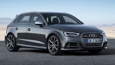 Le roban su nuevo Audi S3 mientras ve la Champions