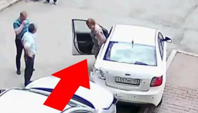 Vídeo: lo que no debes hacer para aparcar