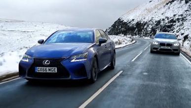 Chris Harris enfrenta al Lexus GS F contra el M5 30 Jahre