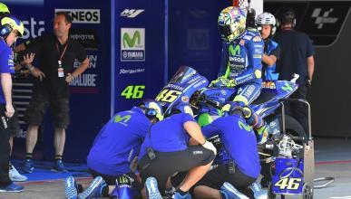 """Valentino Rossi: """"El problema de este año es la Yamaha"""""""