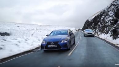 Chris Harris compara el Lexus GS F y el BMW M5