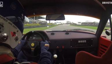 Vídeo: sube al Ferrari F40 LM en Goodwood