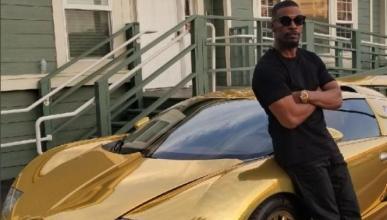 El Bugatti Veyron de Jamie Foxx ahora es dorado