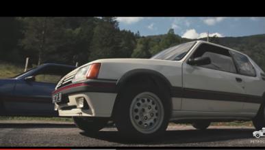 La bonita historia de la restauración de un Peugeot 205 GTI