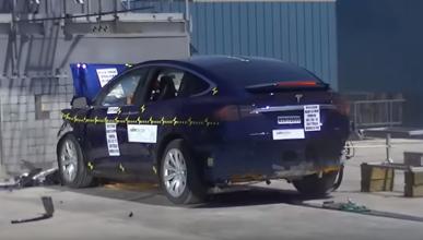 El Tesla Model X logra 5 estrellas de seguridad de la NHTSA