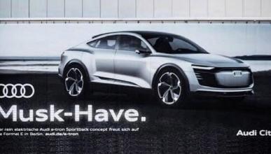El anuncio del Audi E-Tron que señala a Tesla