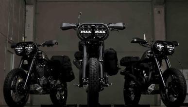 Desert Wolves: las Harley-Davidson que devorarán el Sáhara