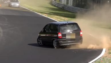 Vídeo: un Opel Zafira OPC llega a su límite en Nürburgring