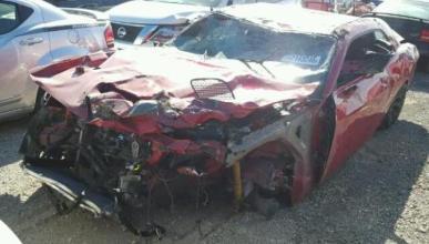 Venta Dodge Challenger SRT Hellcat siniestro