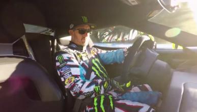 Vídeo: Ken Block pilota el Ford GT en Le Mans