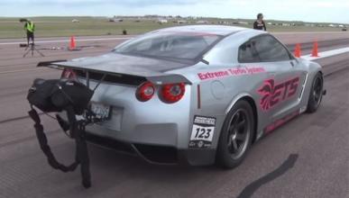 Vídeo: el Nissan GT-R más rápido del mundo tiene 3.000 CV