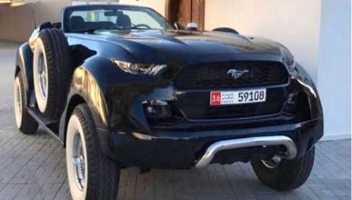 Este Mustang prueba que el dinero no da el buen gusto