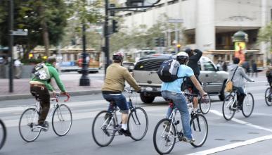La nueva propuesta del Gobierno para proteger ciclistas